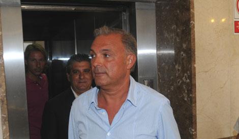 Antoni Palerm antes de prestar declaración. | Pep Vicens