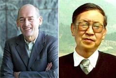 Koolhaas (izda) y Xiao Mo, el profesor de arquitectura chino que ha abierto la polémica.