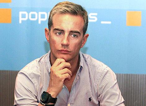 Ricardo Costa, secretario general del PP valenciano.   Vicent Bosch
