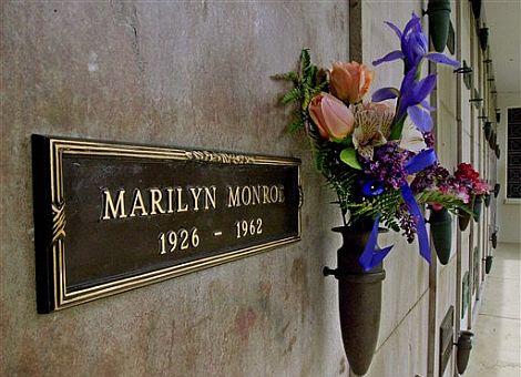 La tumba de Marilyn. | Afp