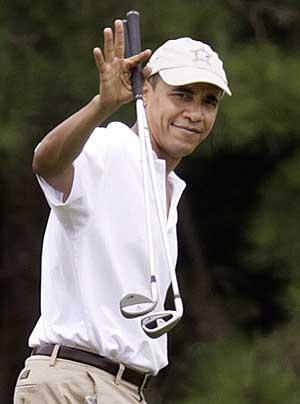 Obama, durante sus vacaciones. | Ap