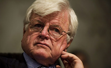 El senador estadounidense Edward Kennedy. | AFP