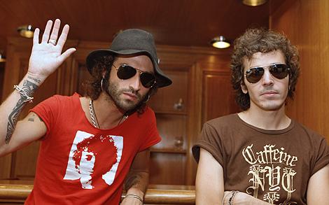 El dúo madrileño, en una entrevista con motivo de la presentación de su disco. | Efe