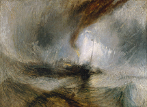 'Tormenta de nieve' (1842), de Turner.