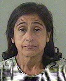 Nancy Garrido, la esposa del agresor, también detenida. | Reuters