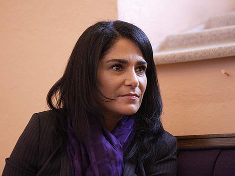 La periodista, en un acto sobre la explotación sexual de mujeres celebrado en D.F. | Efe