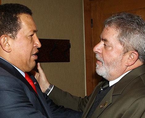 Hugo Chávez y Lula da Silva. | Reuters