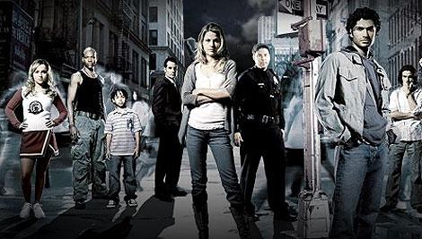 Imagen promocional de la serie de televisión Héroes