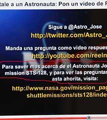 Faltas de ortografía de la NASA. | J. B.