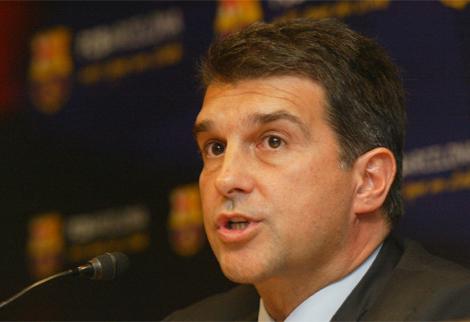 El presidente del Barça, Joan Laporta. | Antonio Moreno