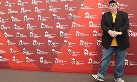Michael Moore, en la presentación del filme en Venecia. | Foto: AP