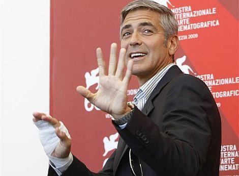 George Clooney, en la presentación en Venecia. | AP