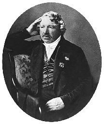Daguerrotipo de Louis Daguerre ca. 1850. | Aepryus