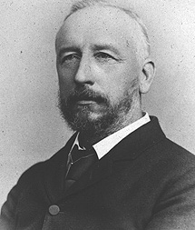 David Hill, autor de la fotografía del cometa de 1882. | Lick Observatory