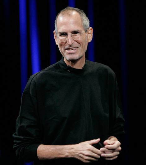 Steve Jobs, muy delgado, durante el evento. | Reuters