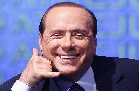 Berlusconi, en una reunión en Roma. | Reuters