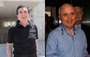 Jaume Matas y Fernando Areal en imágenes de archivo.