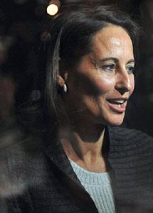 Royal, tras perder la votación de noviembre.   AFP