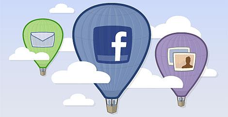 Captura de la página de inicio del nuevo Facebook Lite