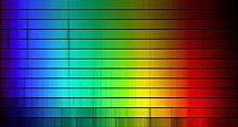 Espectros de estrellas OBAFGKM (O arriba, M abajo) | Kilt Peak Observatory (NOAO)