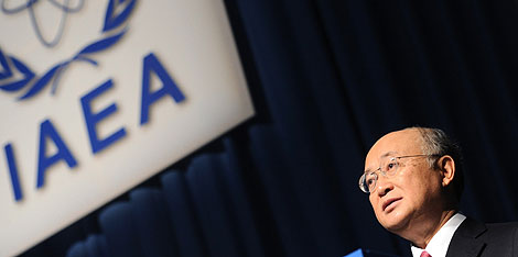 El diplomático japonés Yukiya Amano.   AFP