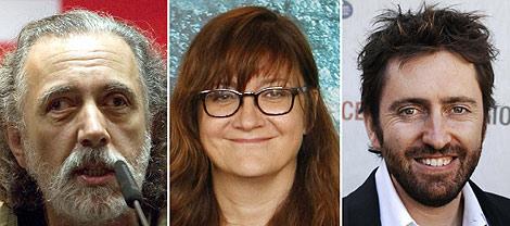 Los tres directores que optan a representar a España. Efe