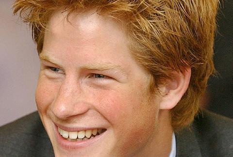 Foto de archivo del Príncipe Enrique de Inglaterra.