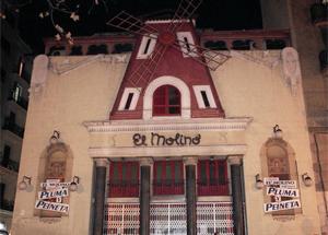 El Molino, en el Paralelo barcelonés. | Efe