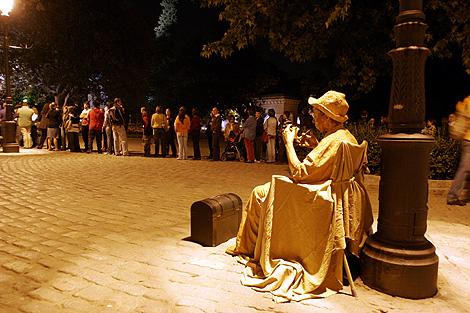 Una de las escenas que dejó la primera edición que se celebró en Madrid. | Javi Martínez