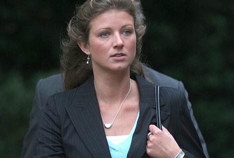 Clare Irby, a su llegada al tribunal de Londres. | Steve Parsons