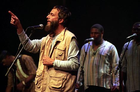 El cantante en un homenaje en Johanesbrugo en 2003. | Ap