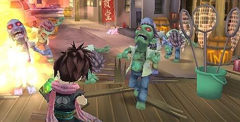 Imagen de 'Zombie Panic in Wonderland' de Nintendo