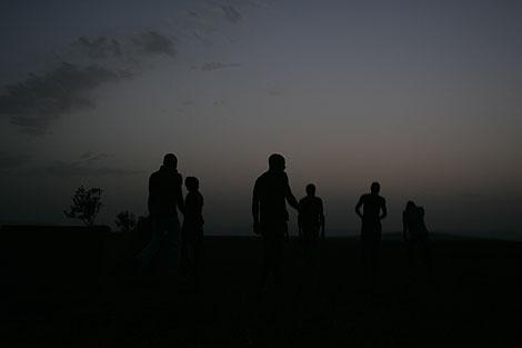 Los clandestinos subsisten en Oujda en condiciones paupérrimas. |