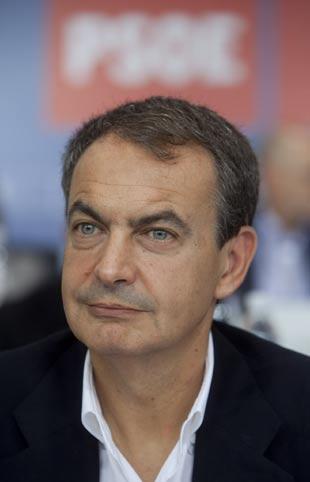 Zapatero, en el Comité Federal del PSOE.