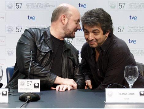 Campanella y Darín en la presentación de la película. | Efe