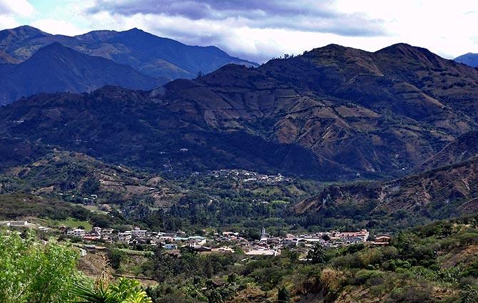 Pueblo de Vilcabamba en el valle de los longevos. (Foto: Waldo Fernández)