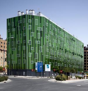 Edficio de viviendas en el PAU de Vallecas (Madrid). | COAM