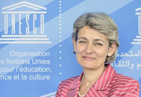 La búlgara Irina Bokova.   Foto: Ap