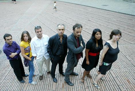 Algunos de los autores que participan en la antología. | Domènec Umbert