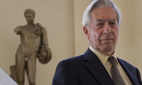 Mario Vargas Llosa. | Foto: Gonzalo Arroyo