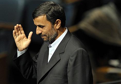 El presidente de Irán, Mahmud Ahmadineyad. | Efe