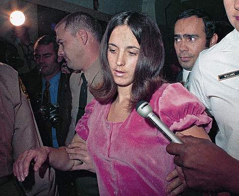 Susan Atkins en una imagen de 1969. | Ap