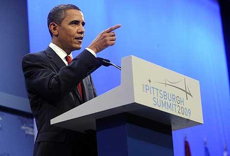 Barack Obama, durante su intervención.   Efe