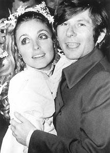 Polanski con Sharon Tate. (Foto: EL MUNDO)