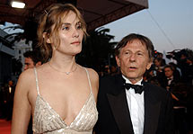 Polanski con Emmanuelle Seigner, su actual pareja. (Foto: AP)