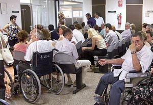 Sala de espera de un PAC | El Mundo