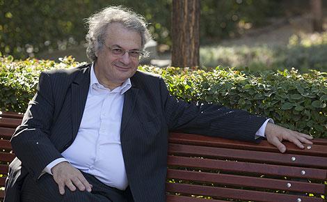 Amin Maalouf, en Madrid. | Foto: Antonio M. Xoubanova