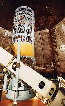 El telescopio Hooker. | Observatorio del Monte Wilson