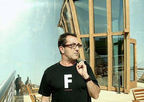 El diseñador valenciano Paco Bascuñán.