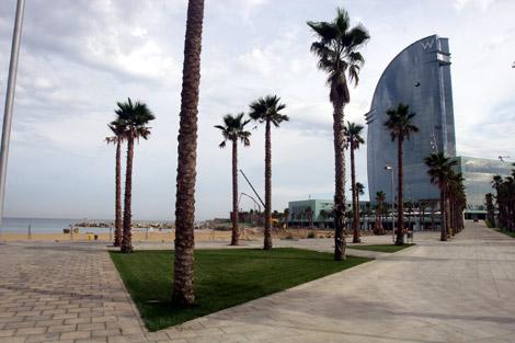 El hotel Vela, en la Barceloneta. | Christian Maury
